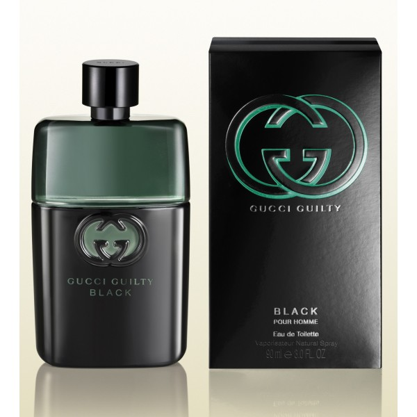 Gucci Guilty Black Pour Homme Eau De Toilette Men.90 Ml