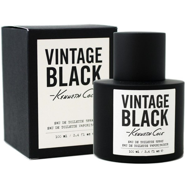 Kenneth Cole Vintage Black Eau De Toilette Men. 100 Ml